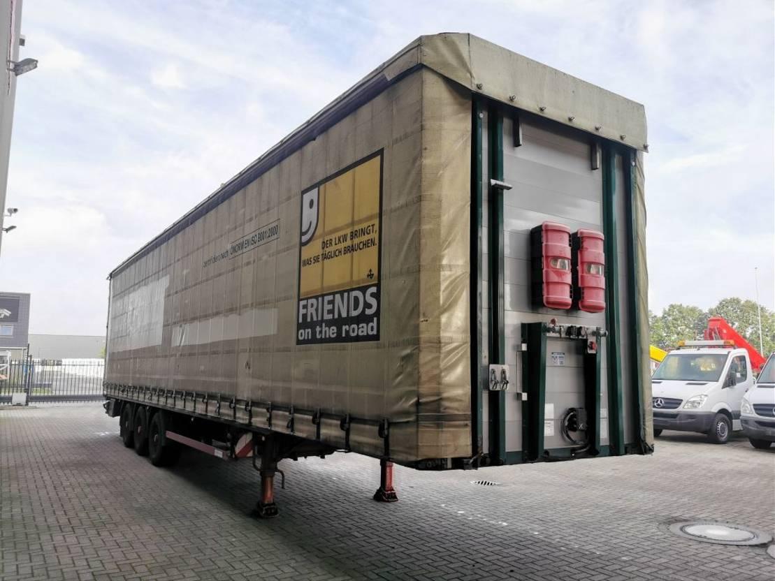 huifzeil oplegger Meusburger MPS-3 Coilmulde Verbreiterbar Jumbo 105 cm! 2010