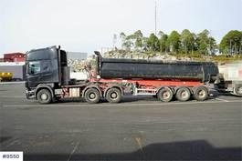 standaard trekker Scania R620 Trailer w/ Damm tip trailer 2008
