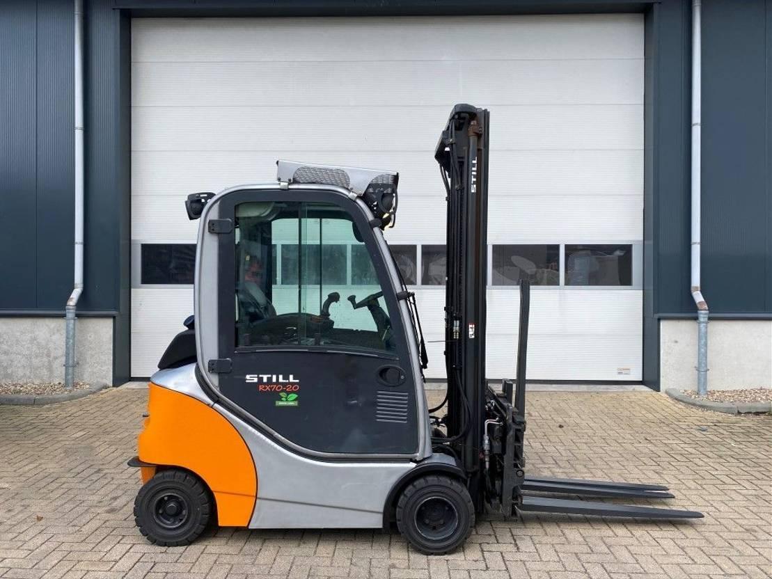 vorkheftruck Still RX 70-20 2 ton Diesel Triplex Sideshift Positioner Freelift Heftruck 2014