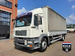 schuifzeil vrachtwagen MAN TGM 18 / 4X2 BL / MANUAL / SCHUIFZEIL / SCHUIFDAK / LAADKLEP 2010