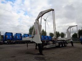 container chassis oplegger Valart Y4140 SIDELOADER
