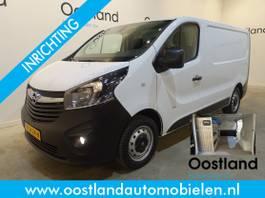 gesloten bestelwagen Opel 1.6 CDTI L1H1 120 PK Servicebus / Sortimo Inrichting / Airco / Cruise Co... 2017