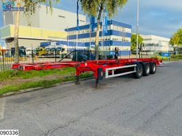 container chassis oplegger ASCA Chassis 10 20 30 40 45 FT, oading floor is adjustable 2009