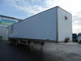 gesloten opbouw oplegger General Trailer Closed Box - 3 axles 2003