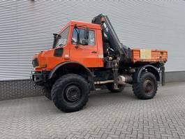 kraanwagen Unimog U2450 Unimog U2450L HAIB kraan 15,5 ton