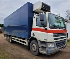 bakwagen vrachtwagen DAF CF 250 75CF250 6X2 FRIGO CARRIER 2005