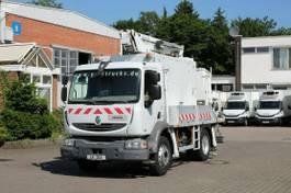 autohoogwerker vrachtwagen Renault Midlum 220 DXI /Comilev EN170TPC/2Per.Korb/265kg 2008