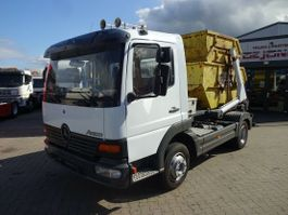 containersysteem vrachtwagen Mercedes-Benz Atego 917 Cityabsetzer / Ausschub /Top Zustand 1999