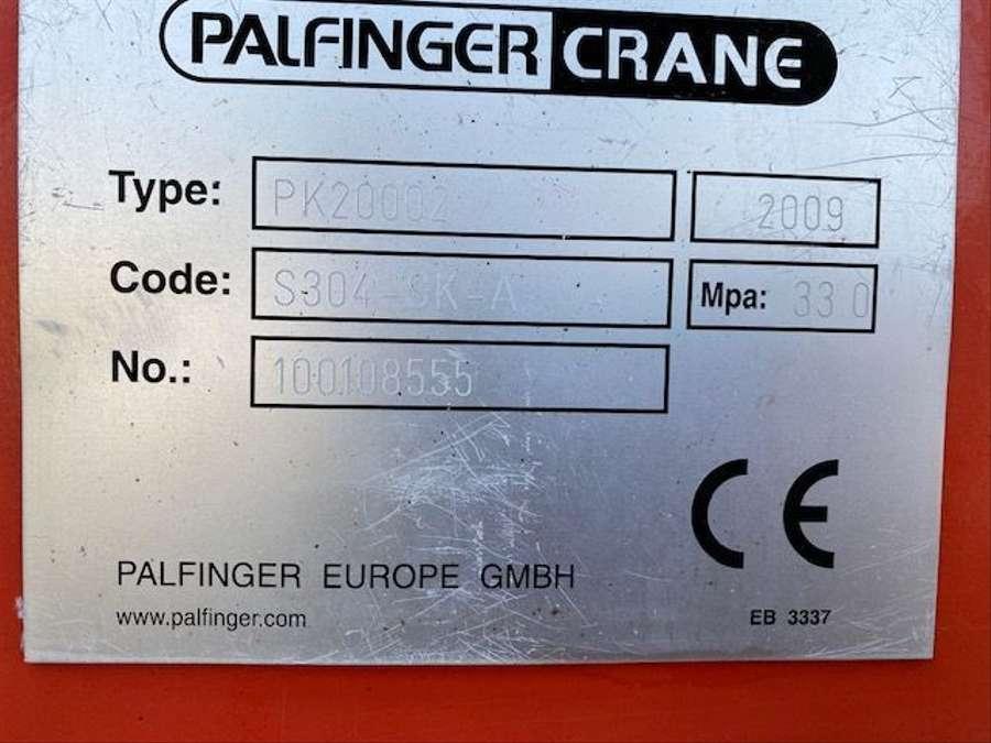 DAF - 8X4 Kipper+Kran Palfinger PK20002 Funk 12