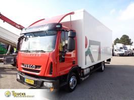bakwagen vrachtwagen Iveco EuroCargo 75 75E21 + Manual + Euro 6 + Lift 2015