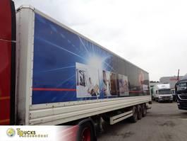 gesloten opbouw oplegger Van Hool 3B0072 + 3 AXLE + Dhollandia Lift 2005
