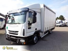 schuifzeil vrachtwagen Iveco EuroCargo 80 80EL21 Manual + Euro 6 + Dhollandia Lift 2014