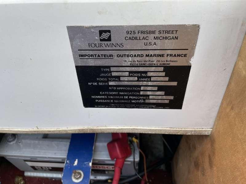 Diversen - Fourwinn 205 sundowner 630 Lang incl trailer 10