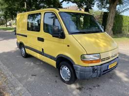 gesloten bestelwagen Renault Renault master rolstoel lift 2001