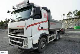 kipper vrachtwagen Volvo FH 540 6x4 tipper truck 2012