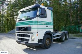 standaard trekker Volvo FH 440 6x4 Tractor with hydraulics and hub reductio 2006
