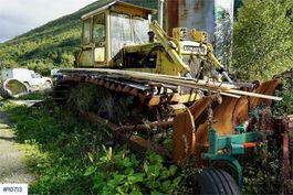 rupsdozer Komatsu D65P sumpdozer w/stump ripper