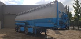 silo oplegger Lambrecht Flour silo trailer 2004