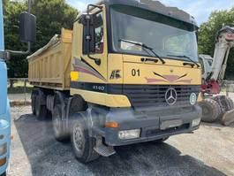 kipper vrachtwagen Mercedes-Benz ACTROS 4140 8X8 - MEILLER TIPPER 1999