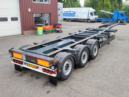container chassis oplegger Kögel PORT 40 SIMPLEX 20 S 24-2 SAF - Discbrakes - Lift axle - 04/2022 APK (O732) 2018