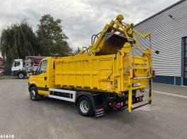 containersysteem vrachtwagen Iveco 70C17 Haller 7m3 2013