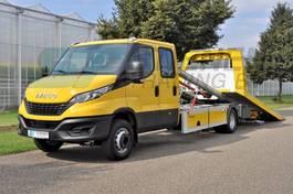 takelwagen-bergingswagen-vrachtwagen Iveco Daily 70 C18 Tevor Alu EURO: 6D * NEW* NEU*NIEUW !!! 2021