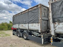 container chassis aanhanger Trias Containersystem Abrollkipper   tandem axle 2   LHV LZV Lang-LKW 2016
