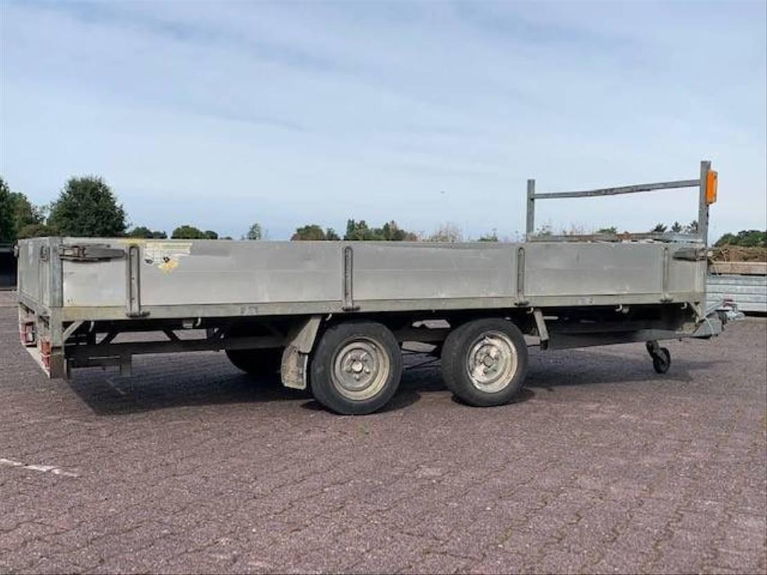 overige aanhangwagen Diversen Peters PPT   Aanhanger   Tandemasser   Plateauwagen 2005