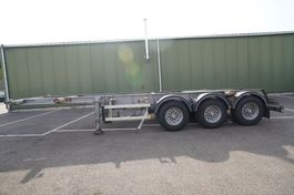 container chassis oplegger Burg 3 AXLE CONTAINER TRAILER 1998