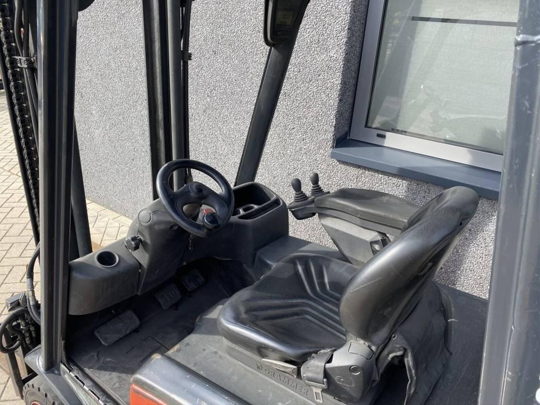 vorkheftruck Linde Heftruck Linde E16P-01 Duplo 320 Sideshift/4e Functie  2007 elektrisch Linde E16P-01 Duplo 3120 Sideshift/4e Functie  2007 elektrisch 2007