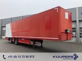 gesloten opbouw oplegger Renders / 2 as Gestuurd X-steering / Box / Laadklep / APK tot 10-2021 ! 2011