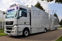 autotransporter vrachtwagen MAN TGX 18.440 4x2 LL-U Car transporter 2010