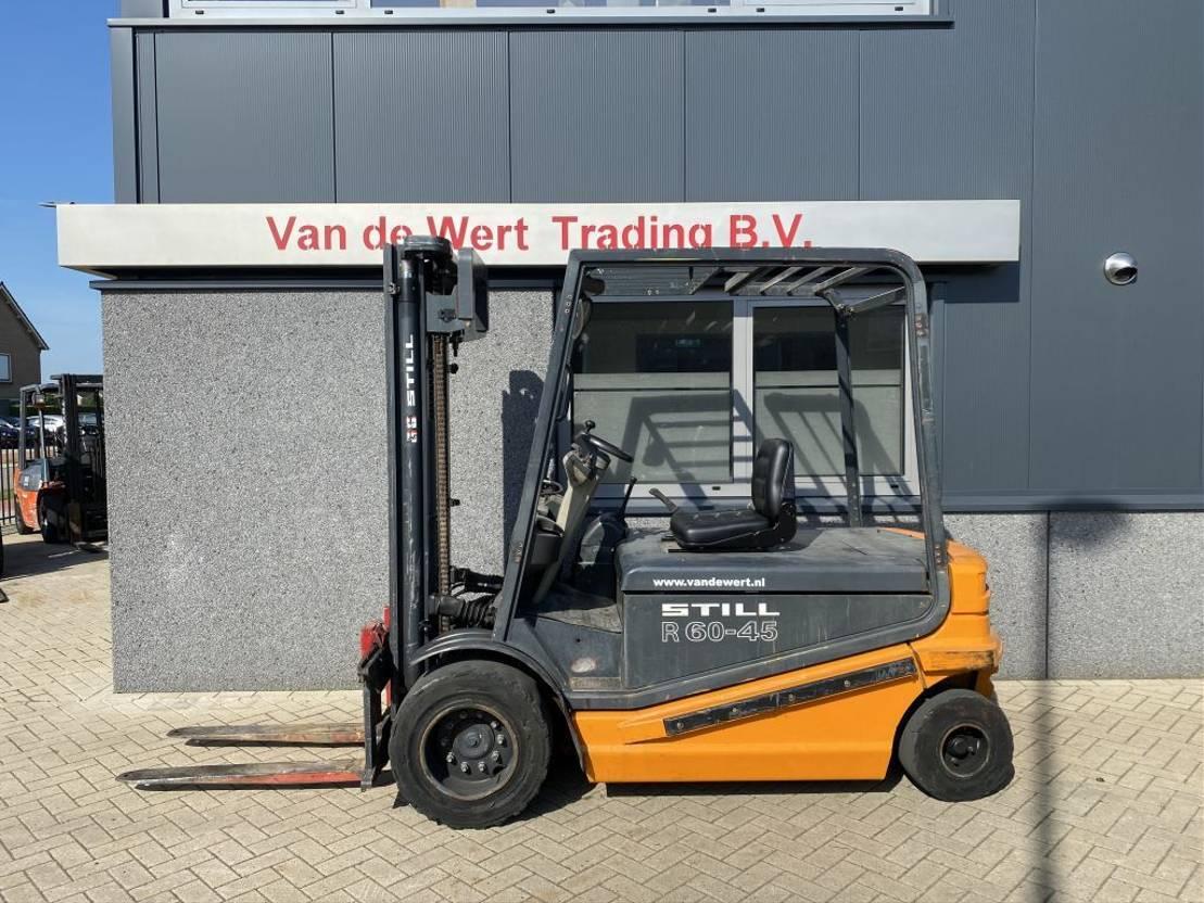 vorkheftruck Still Heftruck Still  R60-45 Duplo 320 elektrisch bouwjaar 2000 R60-45 Duplo 320 elektrisch bouwjaar 2000 2000