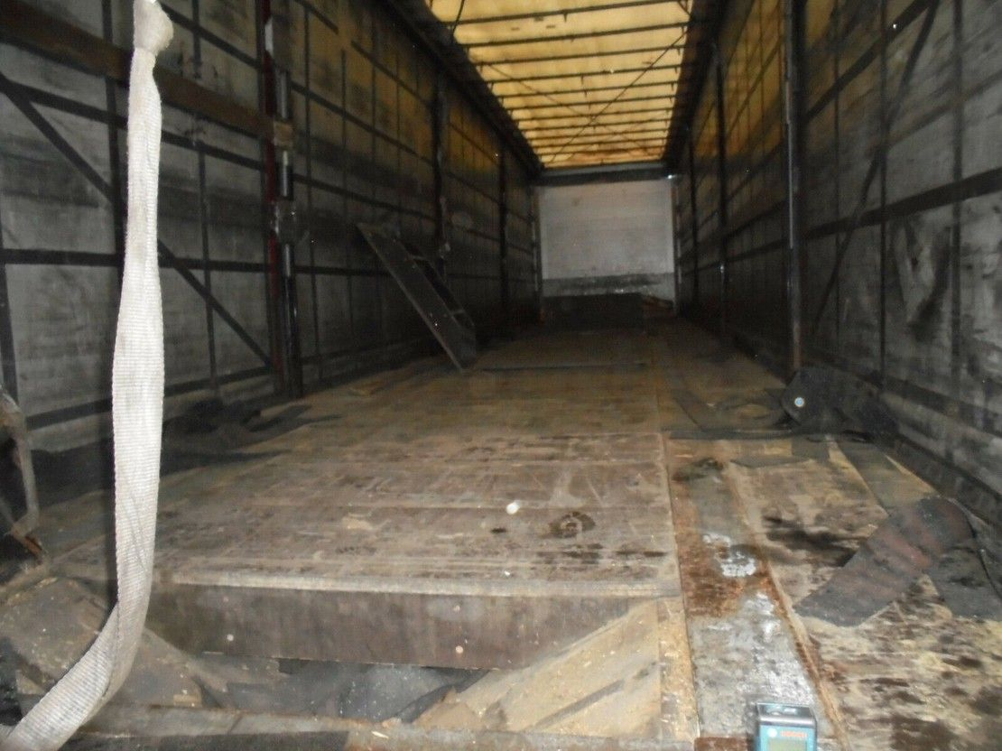 huifzeil oplegger Schmitz Cargobull S01 Tautliner COIL 9 m- LIFT- Portal- Edscha 2008