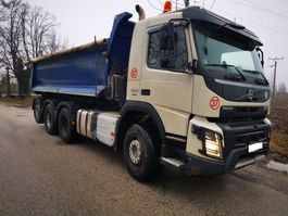 kipper vrachtwagen Volvo FMX 500 8x4 2016 116000km