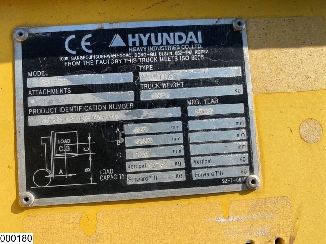 vorkheftruck Hyundai 45L-7A Gas 2013