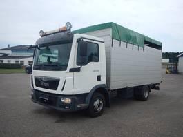veewagen vrachtwagen MAN TGL 12.220 Kreaturbil 2015