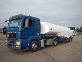 tankwagen vrachtwagen MAN TGS 18.360 + HMK Tank trailer 2013