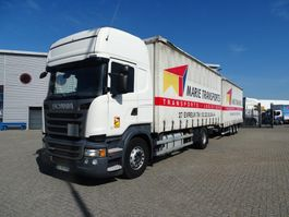 schuifzeil vrachtwagen Scania R450 / AUTOMATIC / RETARDER / COMBINATION / EURO-6 / 2014 2014