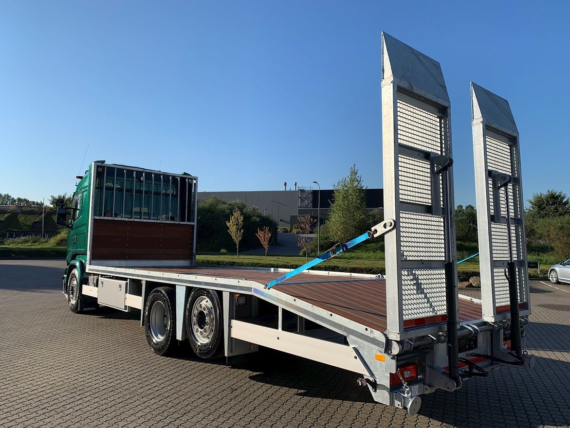 autotransporter vrachtwagen Scania G490 6x2 Euro 6 2014