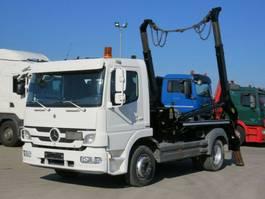 containersysteem vrachtwagen Mercedes-Benz Atego 1222 K Absetzkipper Meiller Tele AK 7 NT 2013