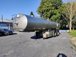 tankoplegger MAISONNEUVE CITERNE EN INOX ISOTHERME 25000 L