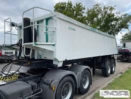 kipper oplegger Reisch RHKS Kipper trailer - BPW axles - Drum brakes 1997