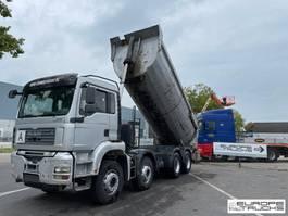 kipper vrachtwagen MAN TGA 41 Full steel - Manual - German - Big axles - Euro 4 2007