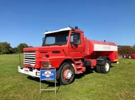 tankwagen vrachtwagen Scania T112 tank truck 1986