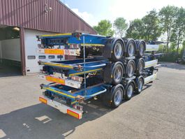 container chassis oplegger Krone SD - 3 assen BPW - All Connections - 12 units in stock (O745) 2013