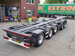 container chassis oplegger Nooteboom CT-53-05D + CT35-02 BPW-assen - 3 Liftassen - 2 Stuurassen - Alcoa's (O761) 2001