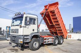 kipper vrachtwagen MAN TGA 33 410 BB 2003