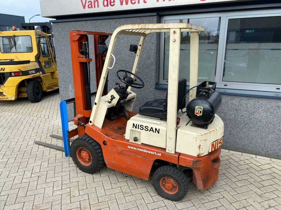 vorkheftruck Nissan Heftruck Nissan F01-15 LPG Duplo 300 Nissan F01-15 LPG Duplo 300