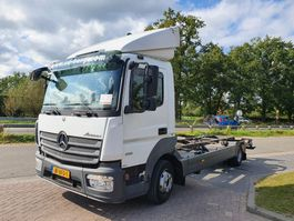 chassis cabine vrachtwagen Mercedes-Benz Atego 816 chassis cabine 2014